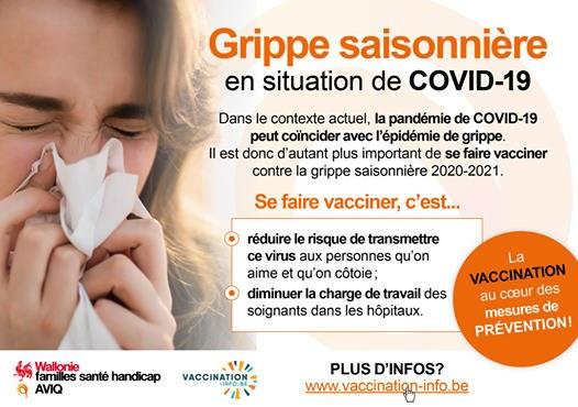 Grippe n